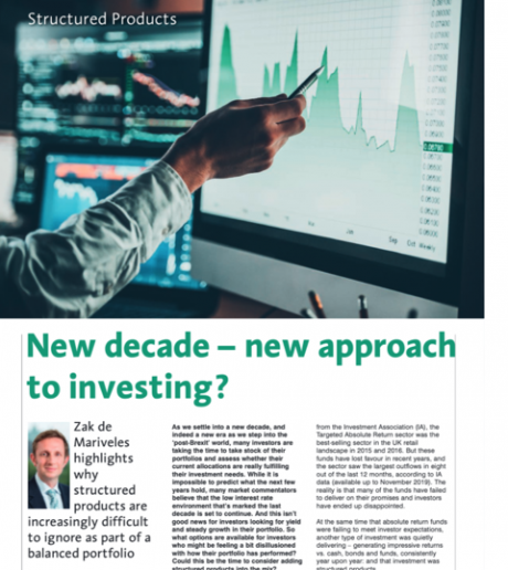 Moneyfacts: New decade - new approach to investing?