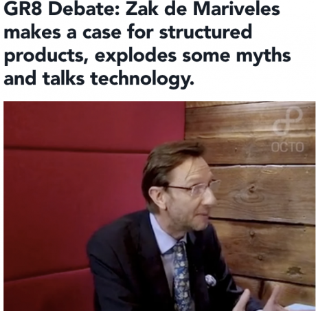 Octo: 30 Mins with Zak de Mariveles interview