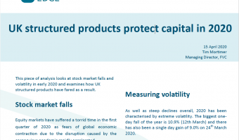 Open Structured Edge: UK structured products protect capital in 2020