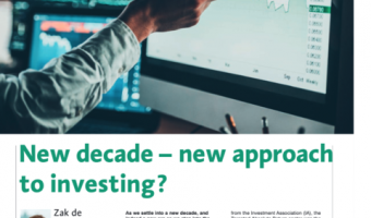 Open Moneyfacts: New decade - new approach to investing?