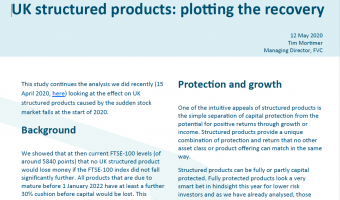 Open Structured Edge: UK Structured Products: plotting the recovery