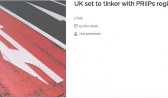 Open UK set to tinker with PRIIPs regime, FVC Hub 03 November 2020