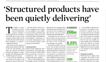 Open Structured products have been quietly delivering