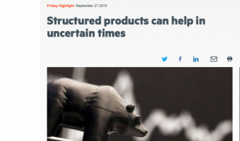 Open FT Adviser: Structured products can help in uncertain times